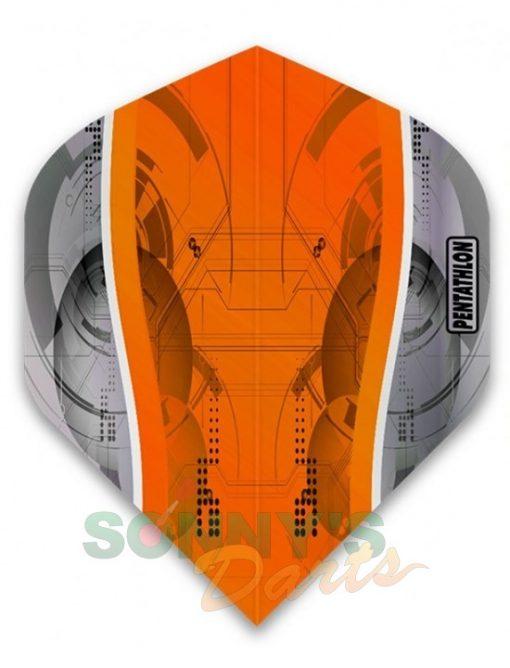 Silver Edge Orange+