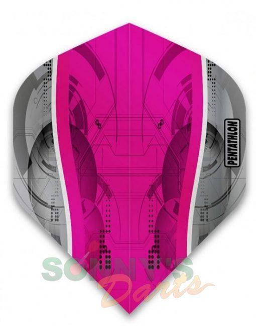 Silver Edge Pink+