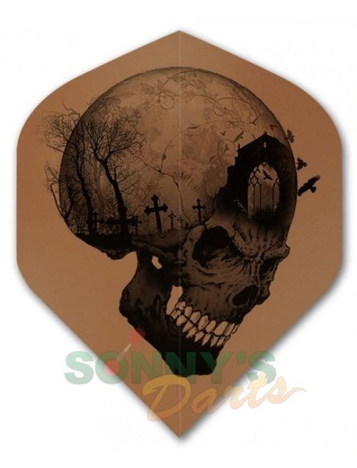 Alchemy Headstone Skull+