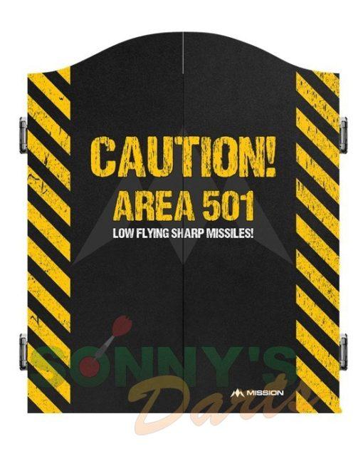 Cabinet Area 501 Caution+