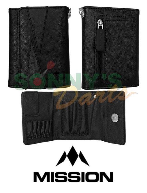 Flint Wallet Black+