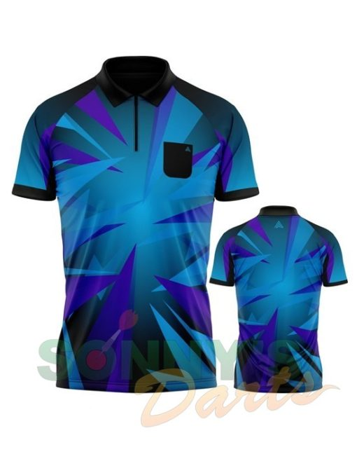 Arraz Shard Black & Blue-Purple+